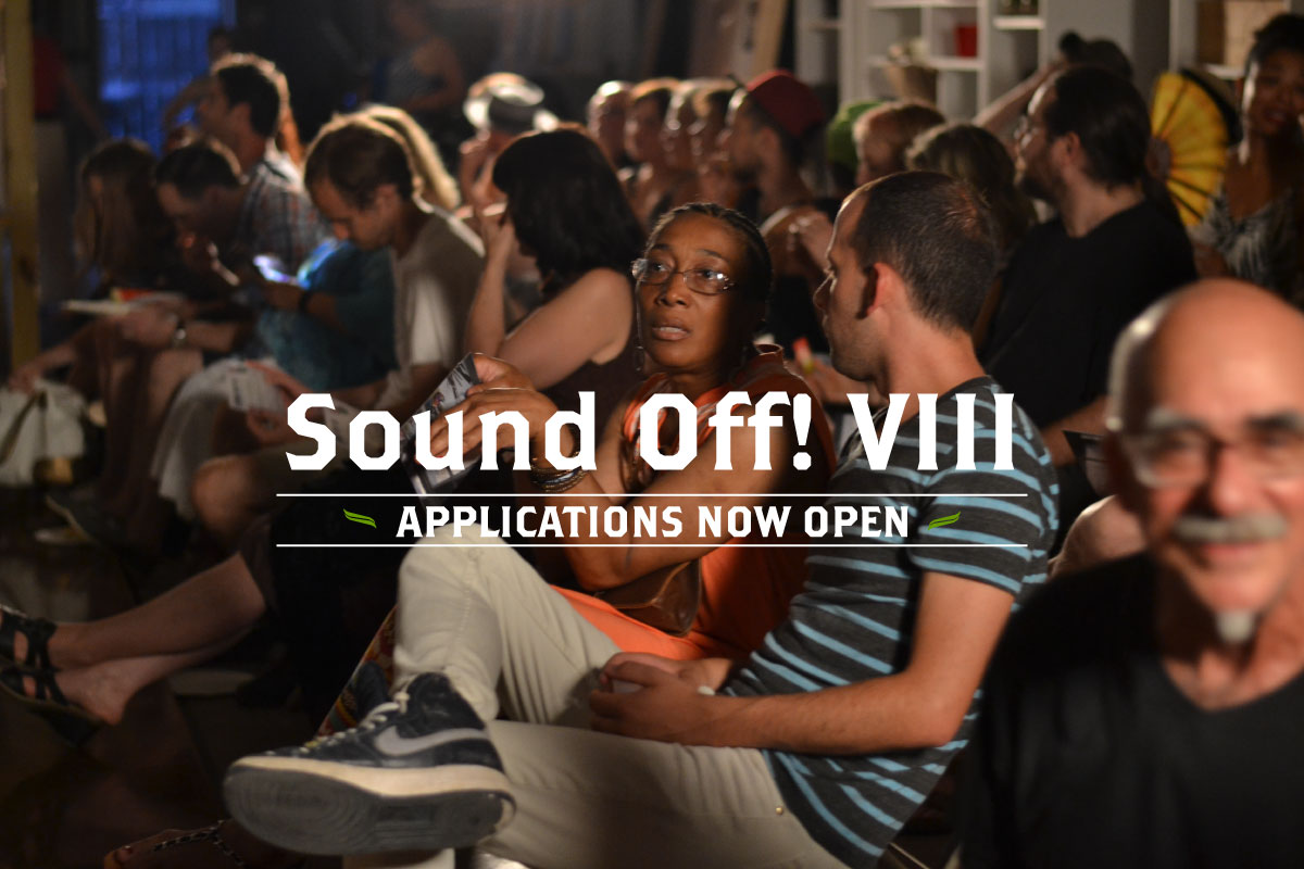 Sound Off! VIII Applications Now Open