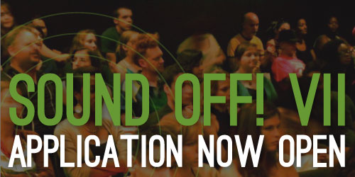 Sound Off! Application New Open